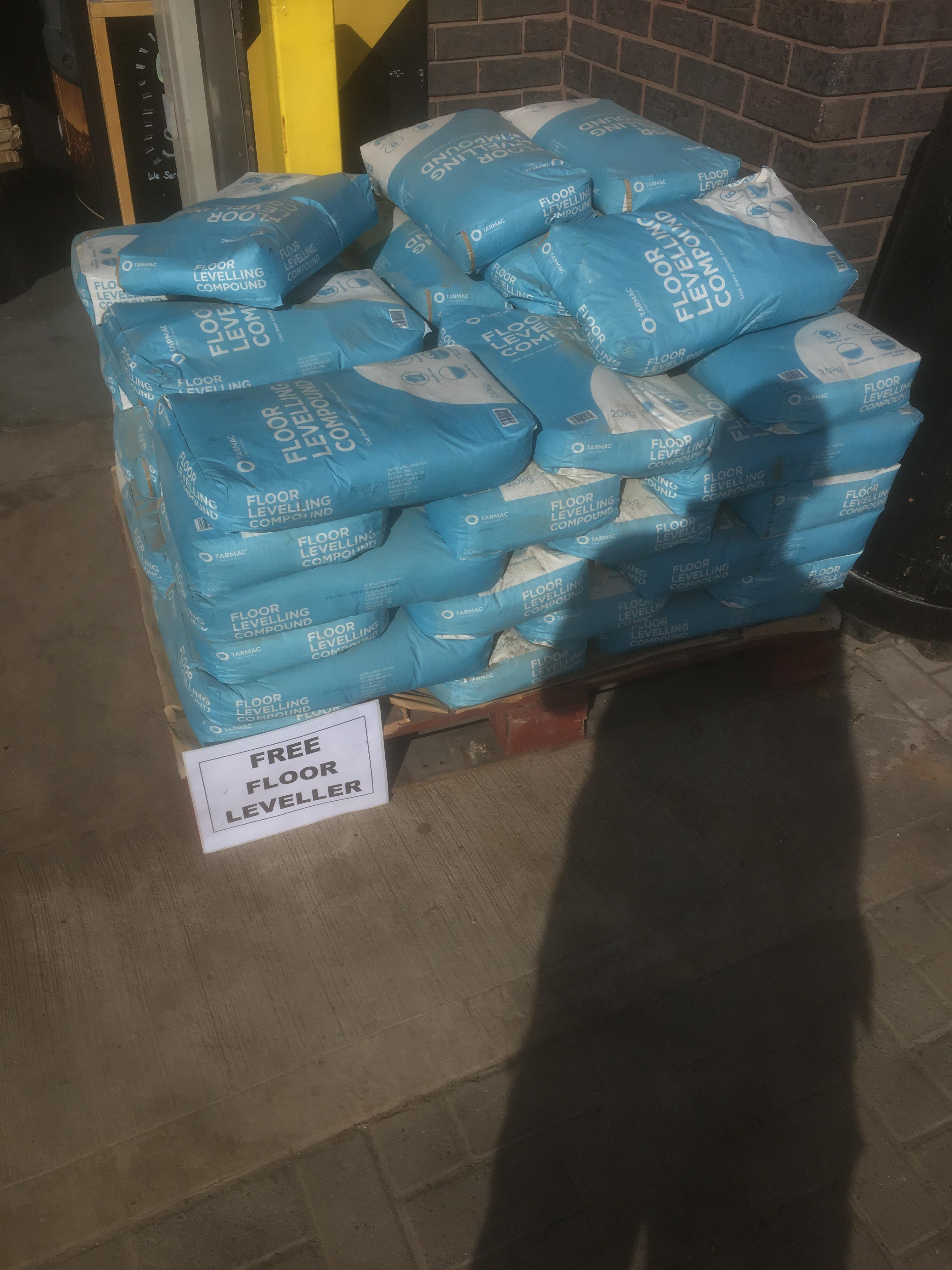 Free floor leveller @ B&Q Nottingham Riverside Retail