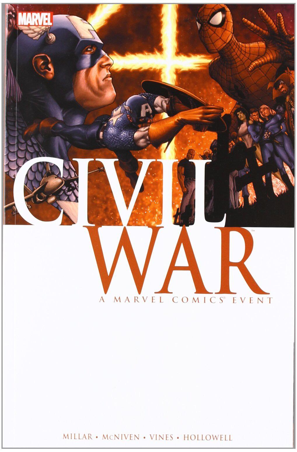 Civil War Graphic Novel £5.49 prime / £8.48 non prime at Amazon.co.uk