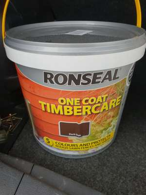 Ronseal 1 coat timbercare. 5 litre @ poundstretcher