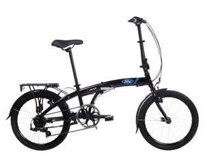 Dahon 7 speed folding bike - Branded Ford £269 bikesdirect365 / Ebay