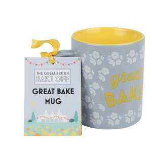 3 X The Great British Bake Off 'Great Bake' Mug + WILKINSON Sword Hydro 5 SENSITIVE FOR £5.97 Delivered @The Gift and Gadgetstore