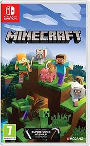 Minecraft for the switch £20.99 Amazon