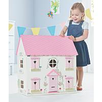 Wooden Dolls House now £28 C+C @ Asda George