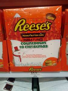 Reese's Peanut Butter Cups Advent Calendar £4.79 instore at Home Bargains