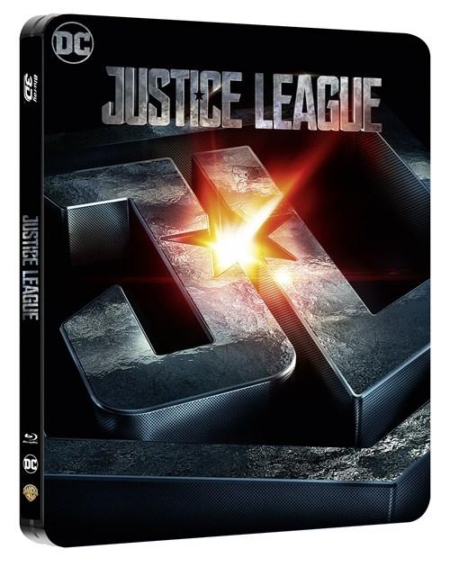 Justice League (hmv Exclusive) Limited Edition Blu-ray Steelbook £11.99 @ HMV