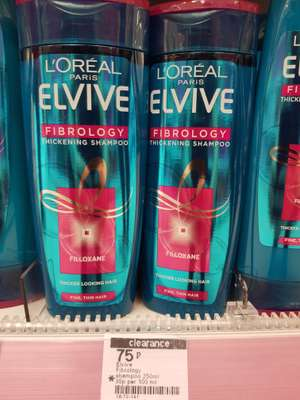 Loreal Elvive thickening shampoo 75p @ Boots -  Broughton