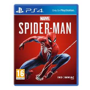 CEX Paying £40 Cash £42 Trade for Spider-man on PS4