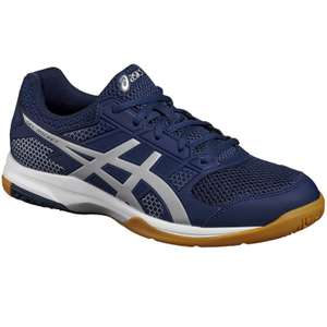 ASICS GEL ROCKET 8 BADMINTON AND SQUASH SHOES - BLUE FOR £29.99 Free C&C Decathlon