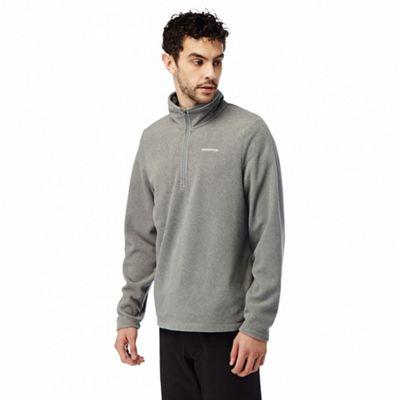 Craghoppers - Quarry grey marl Corey half zip fleece @ Debenhams Was 35.00 now £10.50