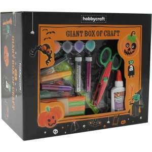 Giant Box of Halloween Craft 1000 Pieces £5 / Giant Box of Christmas Crafts £5.00 @ Hobbycraft