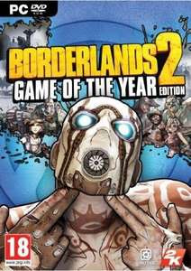 Borderlands 2 Game of the Year Edition PC STEAM key £4.55 with FB code @ CD KEYS
