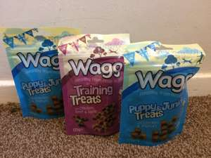 Wagg Treat Pouches 3 for £2.50 @ Jollyes