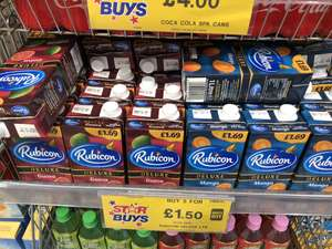 Rubicon Deluxe Guava 2 for £1.50 @ Home Bargains