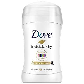 Dove invisible dry stick deodorant anti perspirant - £1.29 Home Bargains