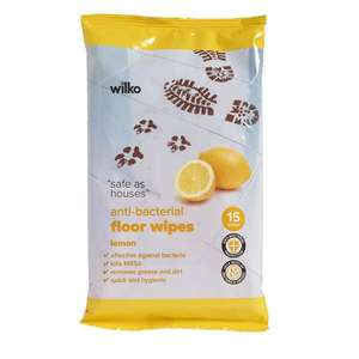 Wilko (Antibacterial/Floor/Toilet/Glass/Skin Therapy/Hand & Face/Spectacle) Wipes 50p @ Wilko