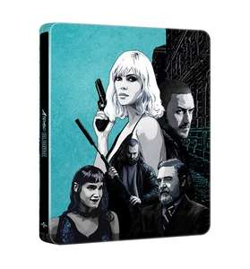 Atomic Blonde (hmv Exclusive) Limited Edition Steelbook £9.99 @ HMV