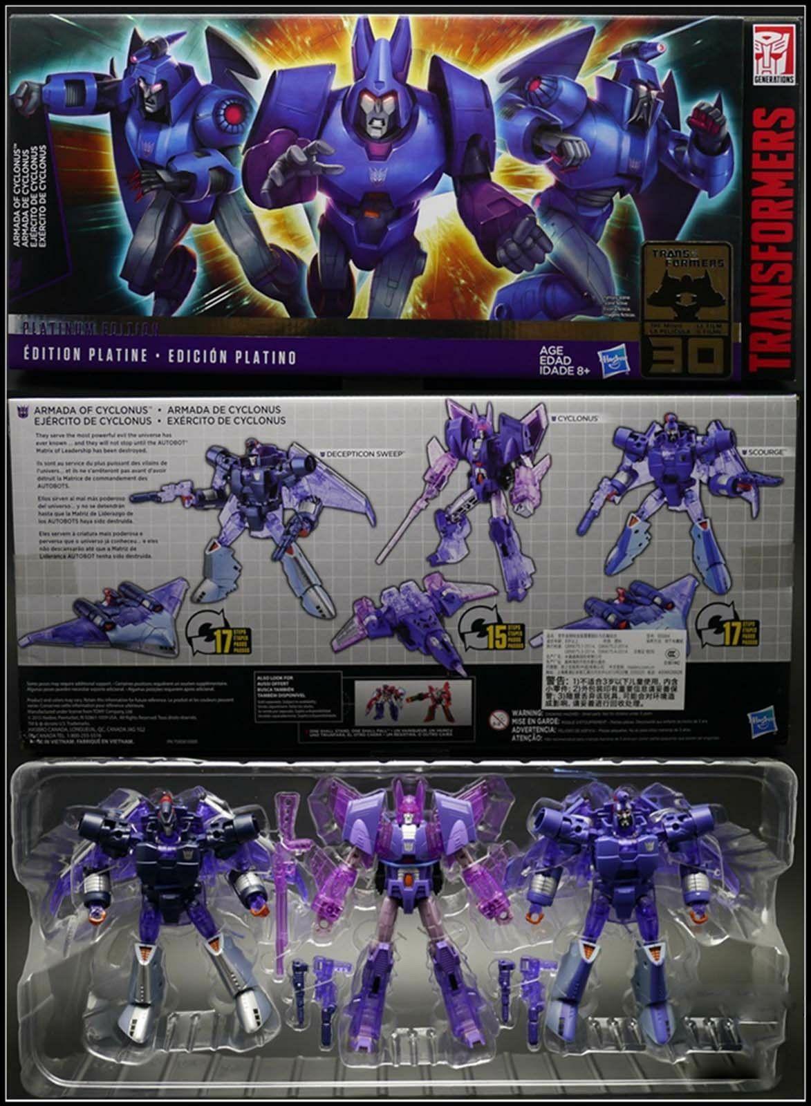 Transformers Cyclonus & Scourge & Redshirt £26.95 @ Kapow Toys