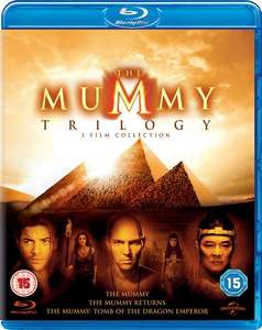 The Mummy: Trilogy £6.50 Delivered (Using Code) @ Zoom