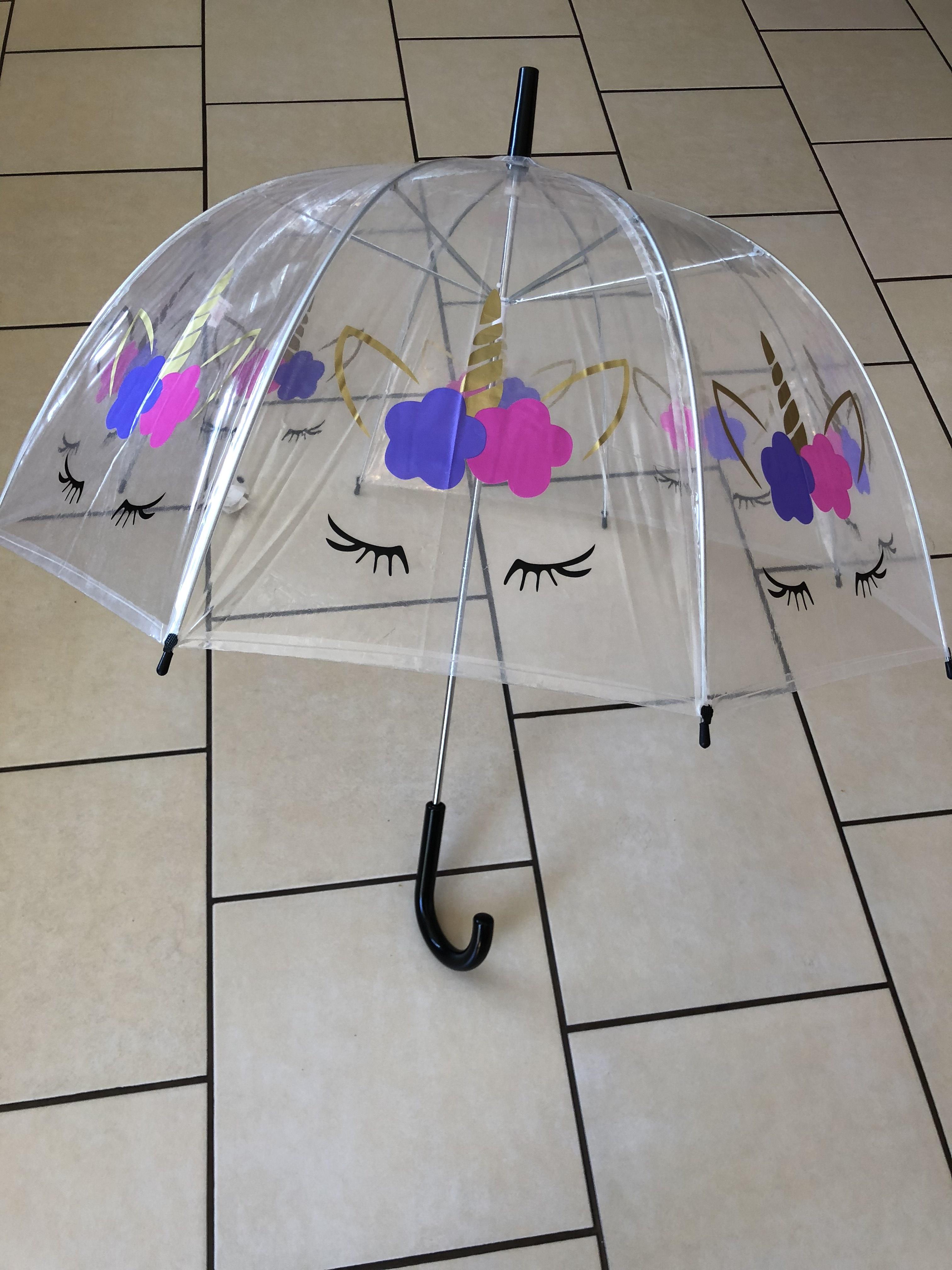 Unicorn umbrella £5 primark