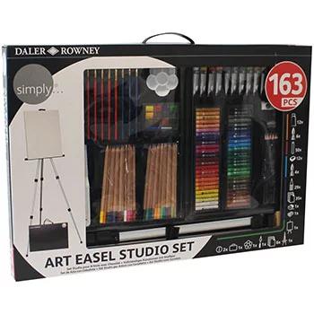 Daler Rowney Art Easel Studio 163 Piece Set inc Full Size Easel now £30 Delivered w/code @ The Works