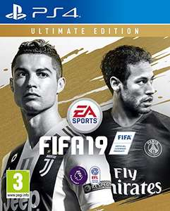 5% off FIFA 19 Ultimate edition on PS4 and Xbox One £85.49 Amazon - Download Code