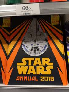 Star wars annual 2019 £2.99 @ home bargains instore