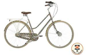 Olive and Orange by Orla Kiely Womens Classic Bike - Olive Frame Design - for £200 @ Halfords