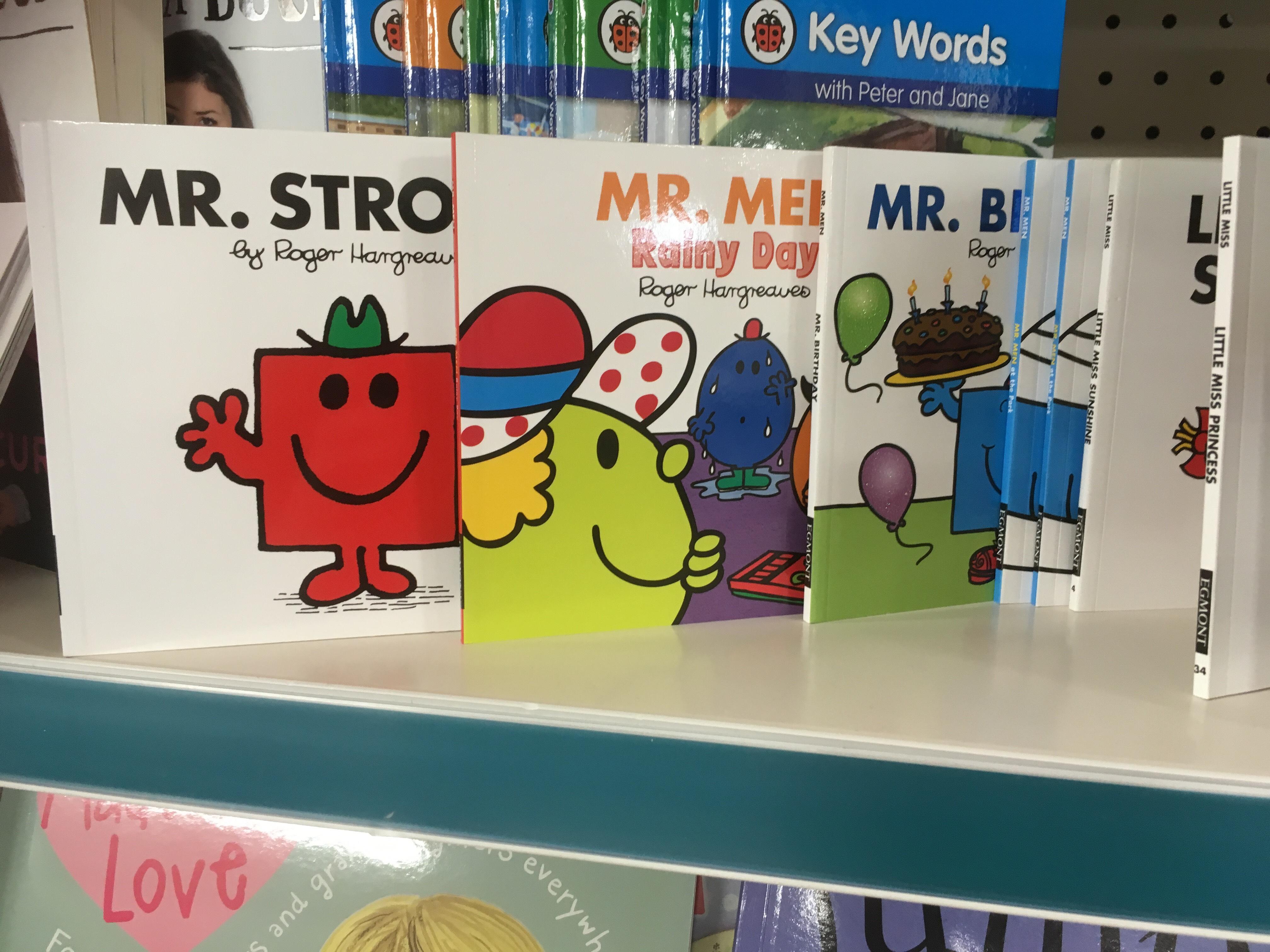 Little Miss & Mr Men books £1 in Poundland