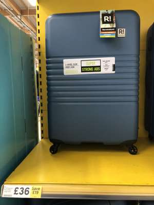 Revelation suitcase - Cabin and 120L cases on offer £30 @ Tesco Cheetham Hill