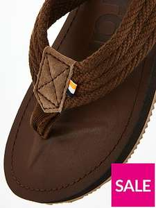 Superdry cove sandals ( small size only) £12.50 were £25.00 plus delivery or free collect plus @ Very