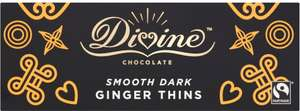 Divine Fairtrade Dark Chocolate After Dinner Ginger Thins @ Heron Foods - £1