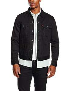 Levi's Men's The Trucker Jacket in black £45 @Amazon From extra small to xxl in sizes