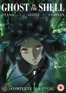 Ghost in the Shell - Stand Alone Complex: Complete 1st & 2nd Gig - £21.99 on DVD and £34.99 on Blu-ray @ HMV
