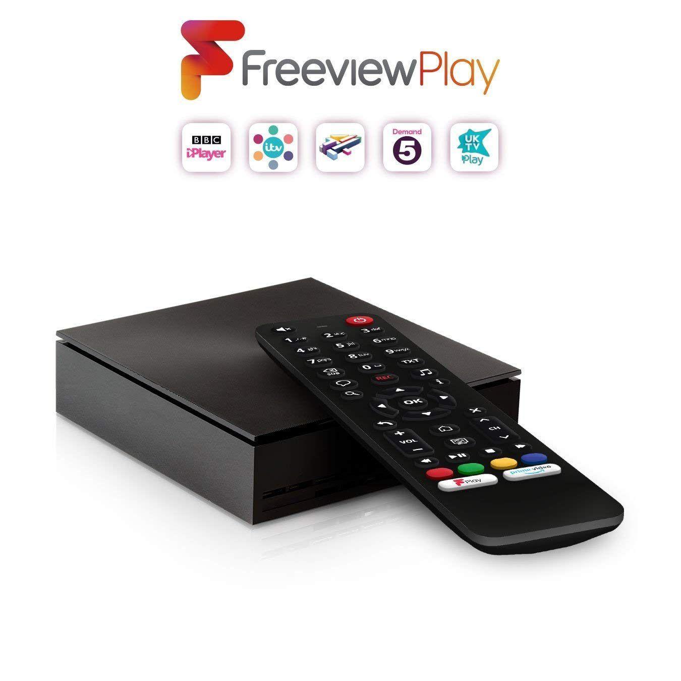 NetGem NetBox HD with Freeview Play. £49 for Three Customers via Wuntu App