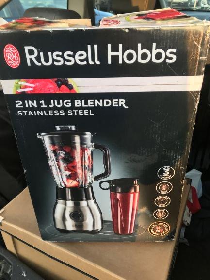 Russell Hobbs blender jug £5 @ Asda Gillingham
