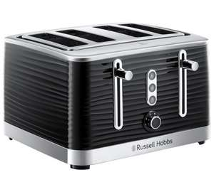 Russell Hobbs 24381 Inspire 4 Slice Toaster Only £39.99. Two colours available @ Argos (free C&C)