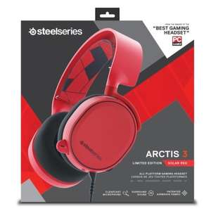 STEELSERIES ARCTIS 3 SOLAR RED LIMITED EDITION 7.1 SURROUND GAMING HEADSET £44.99 @ Box