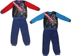 Star Wars Polar Fleece Long Sleeve Pyjama Set, blue or red £6.99 delivered @ besttrenduk ebay
