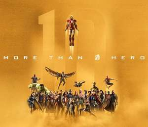 Every Marvel film in IMAX back to back stating from 28th September and for only £3 per showing at Cineworld (selected cinemas)