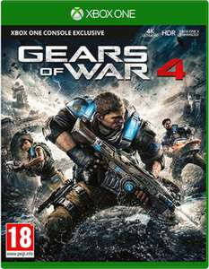 (Preowned - Xbox One) Gears Of War 4 £4.99 delivered @ GAME