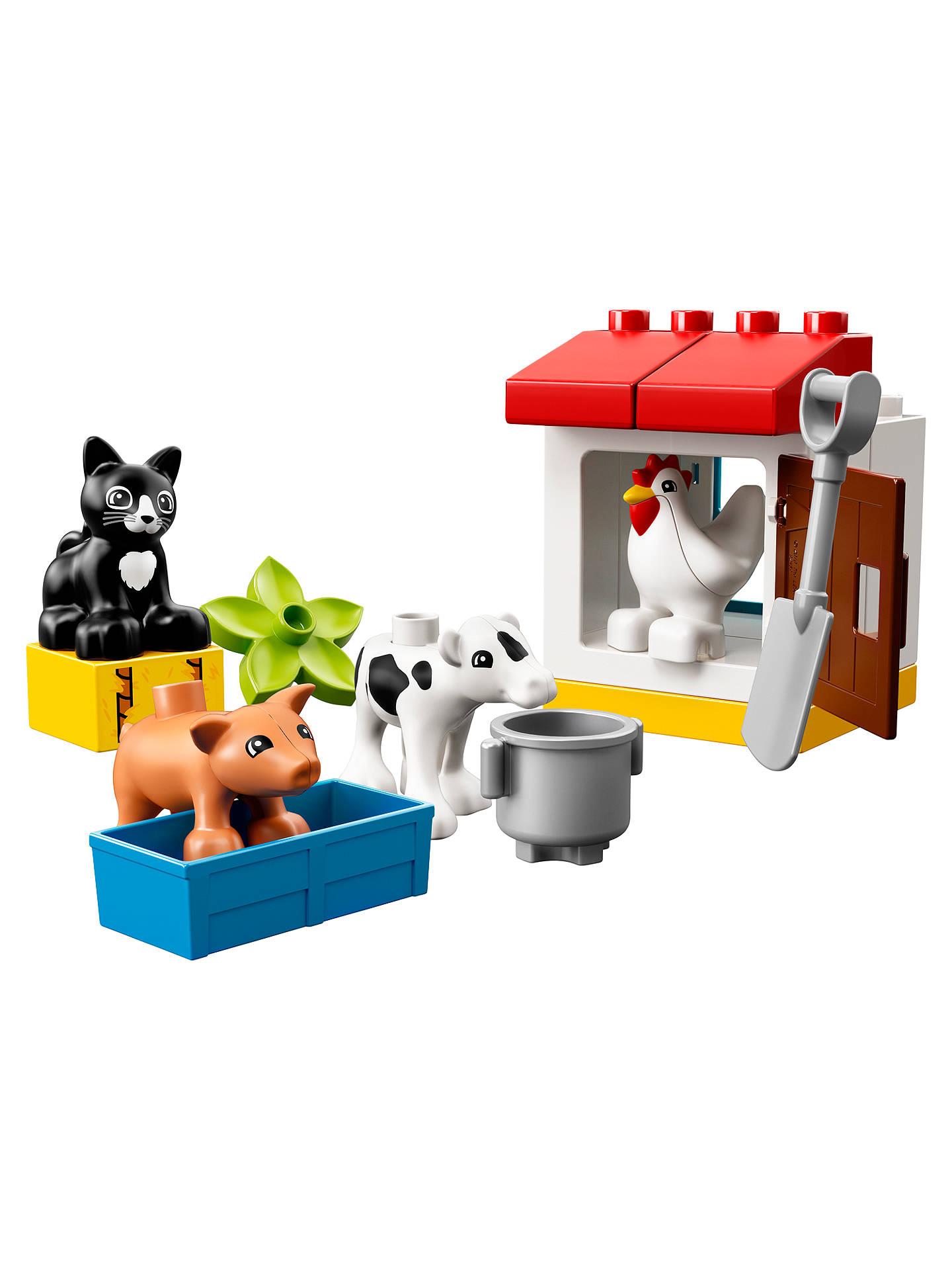 Lego Duplo 10870 Farm Animals £6.50 @ John Lewis & Partners