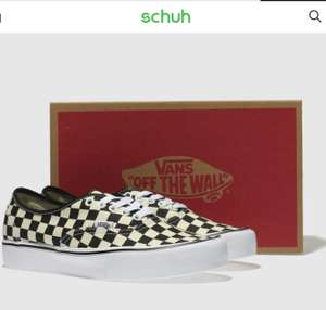 Vans authentic pumps all sizes uk6-12 Checkerboard @ schuh £26.99 free C&C / £1 delivery