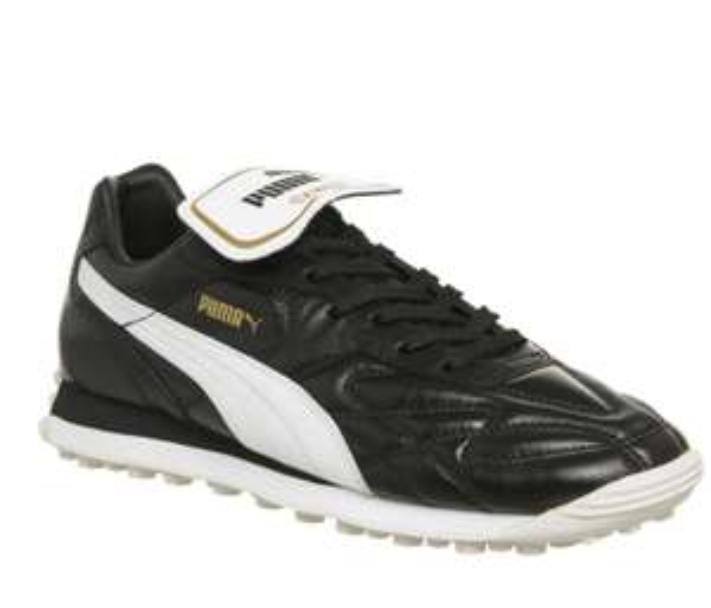 Puma King Avanti Premium Leather Astro turf boot UK 4-12 Black or White £45 @ offspring (free C&C office shoes)