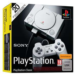 PlayStation Classic + 2 Controllers + 20 Preloaded Games £89.86 @ ShopTo ( Pre-Order)