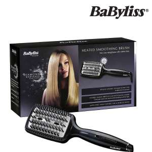 BaByliss 2440BDU diamond heated smoothing & straightening brush (may have damaged packaging) £15.99 delivered @ eBay sold by primeretailing
