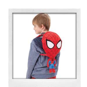 Spider-Man Backpack now £6.60 w/ free C&C with code @ Debenhams