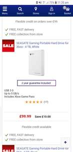 Seagate game drives for xbox - from £69.99-£164.99 @ Currys