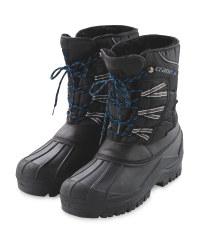 Crane Men's Winter Boots £7.99 @ Aldi