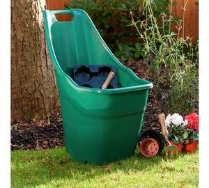 Ward Green Plastic Wheelbarrow 55L now £12.99 @ Argos