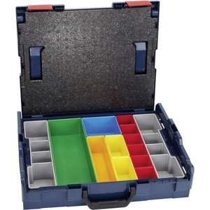 Bosch 1600A001S2 L-BOXX 102 with 13 Piece Organiser Insert Set - £18.99 / £22.98 delivered @ Tools4Trade